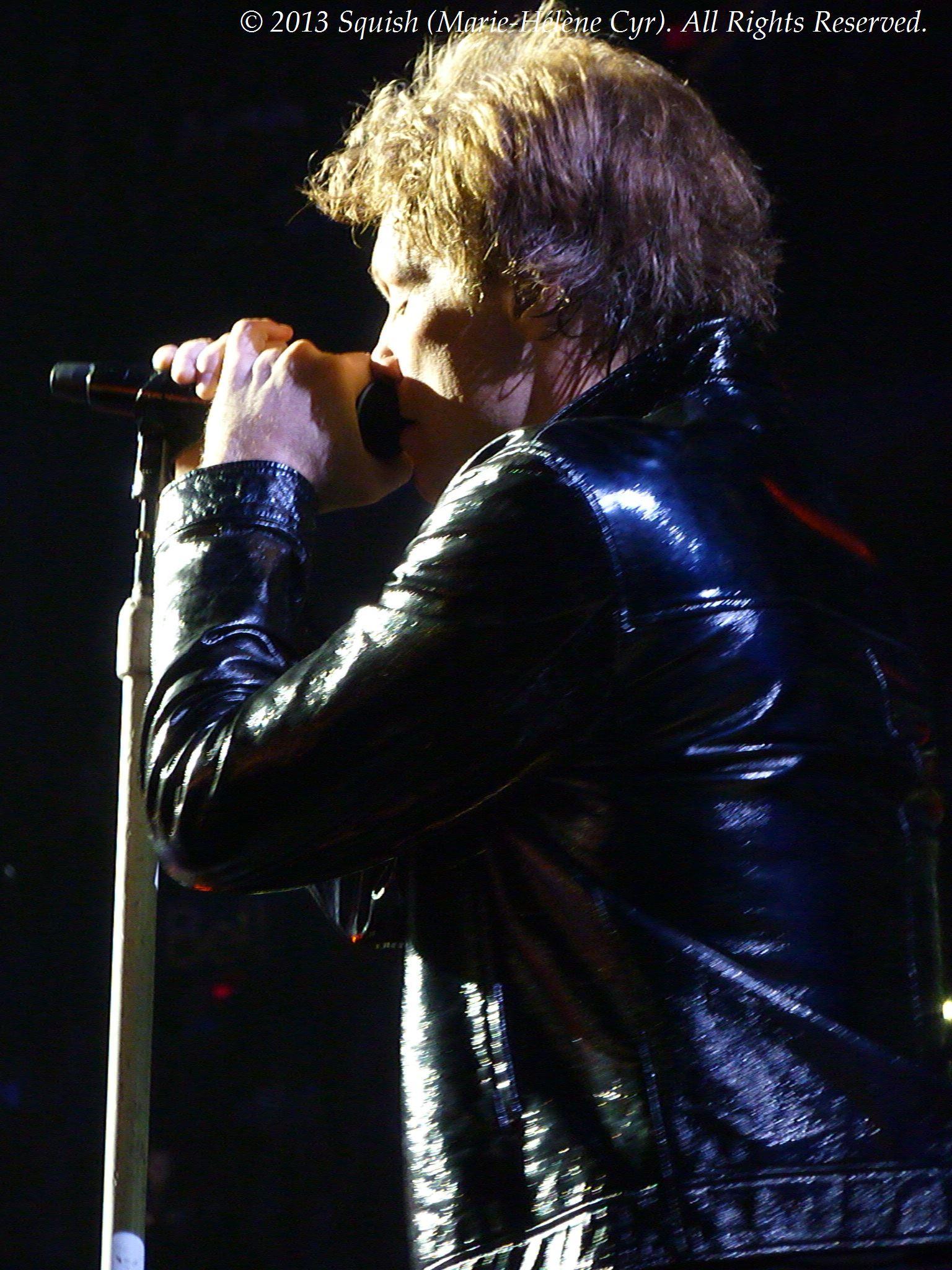 Bon Jovi - Centre Bell, Québec, Canada (8 novembre 2013)